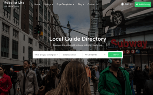 best free wordpress themes 2019 | free directory wp theme