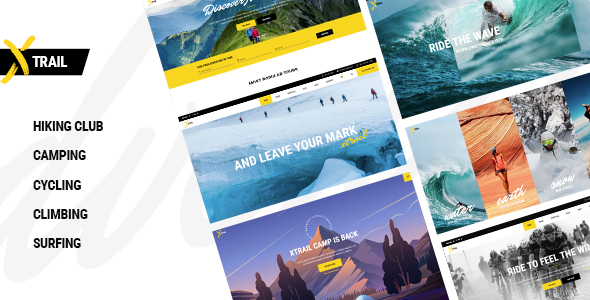 Xtrail - Extreme Sports and Outdoors Theme Download